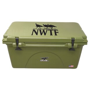 Outdoor Recreational Company of America 75 Qt. NWTF Premium Rotomolded Cooler