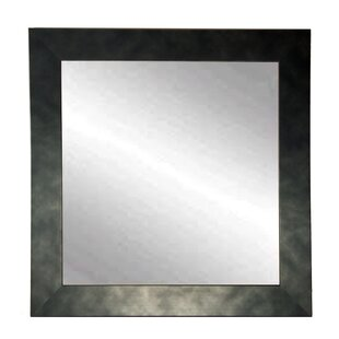 Compare prices Clouded Square Wall Mirror ByBrandt Works LLC