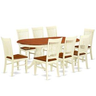 Pilcher 9 Piece Extendable Dining Set
