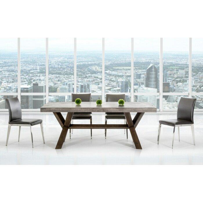 Fabulous Camron Contemporary Dining Table Creativecarmelina Interior Chair Design Creativecarmelinacom