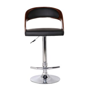 Earnestine Adjustable Height Swivel Bar Stool