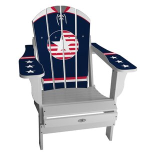 My Custom Sports Chair USA Retro Home Plastic Folding Adirondack Chair