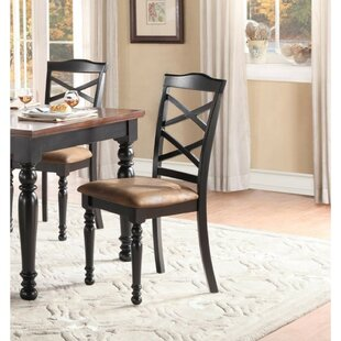 Milam Solid Wood Dining Chair by August G..