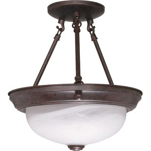 Coulston Semi Flush Mount by Winston Porter