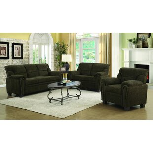 LillyGrace 3 Piece Living Room Set by Red Barrel Studio