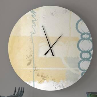 Gracie Oaks Lainey 22 25 Wall Clock Wayfair