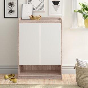 12 Pair Shoe Storage Cabinet By Zipcode Design