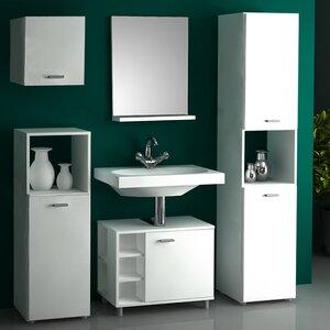 VCM Waschtisch Lodala mit Spiegel und Schrank