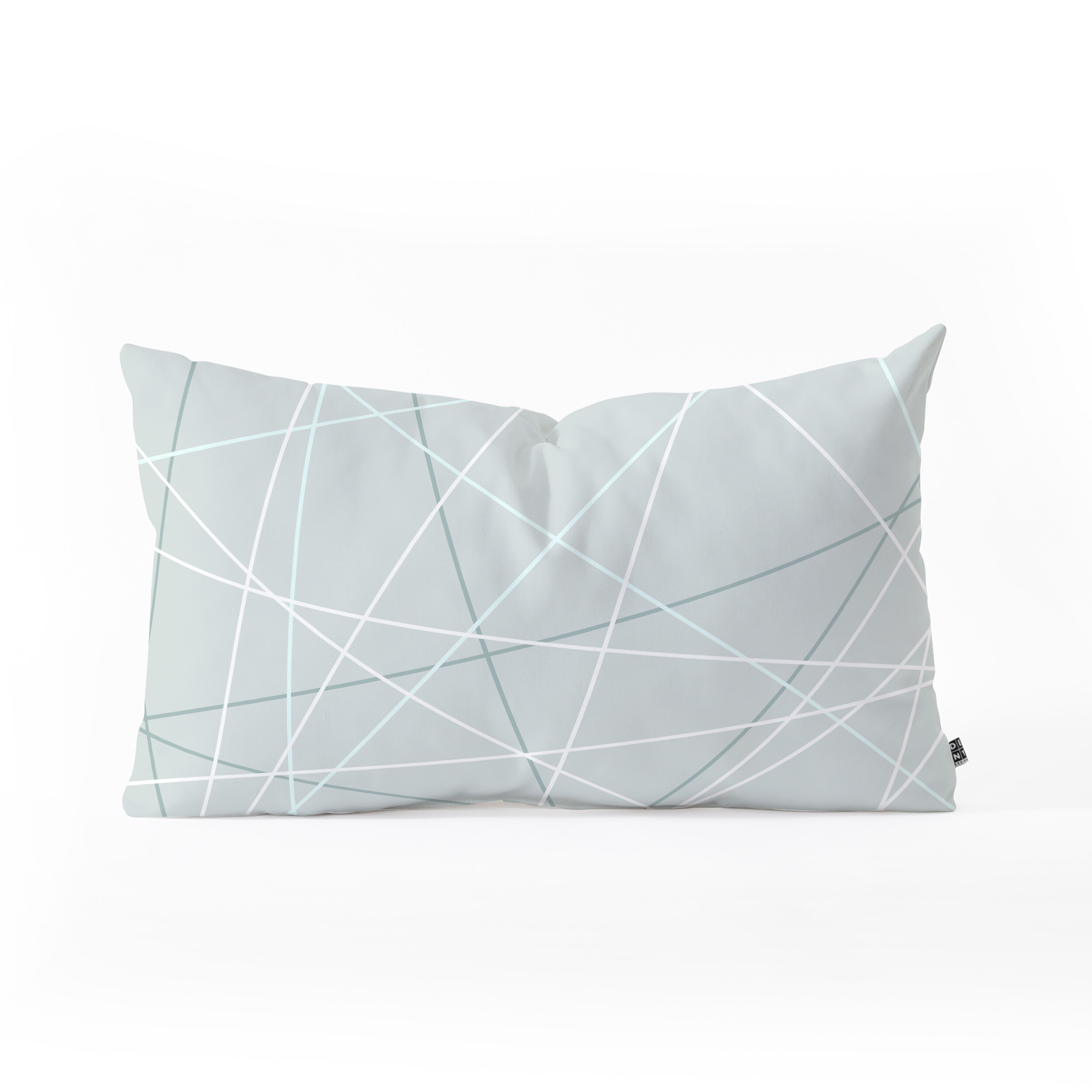East Urban Home Mareike Boehmer Pastel Lines 2 Oblong Indoor Outdoor Lumbar Pillow Wayfair