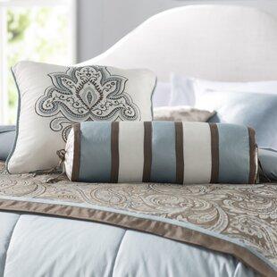 Pokanoket 3 Piece Bedscarf and Pillow Set
