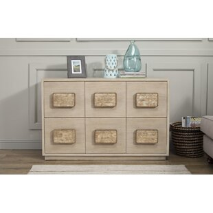 Pineland 6 Drawer Dresser