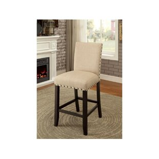 Rigby Counter Height Upholstered Dining Chair (Set of 2) Alcott Hill