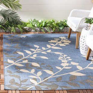 Laurel Blue/Beige Indoor/Outdoor Rug