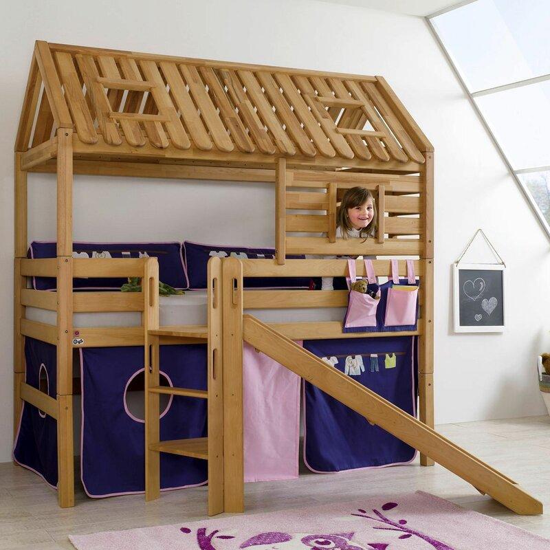 Kylie European Single Loft Bed
