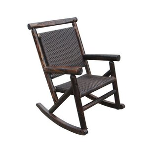 Leigh Country Char-Log Rattan Single Rocking Chair