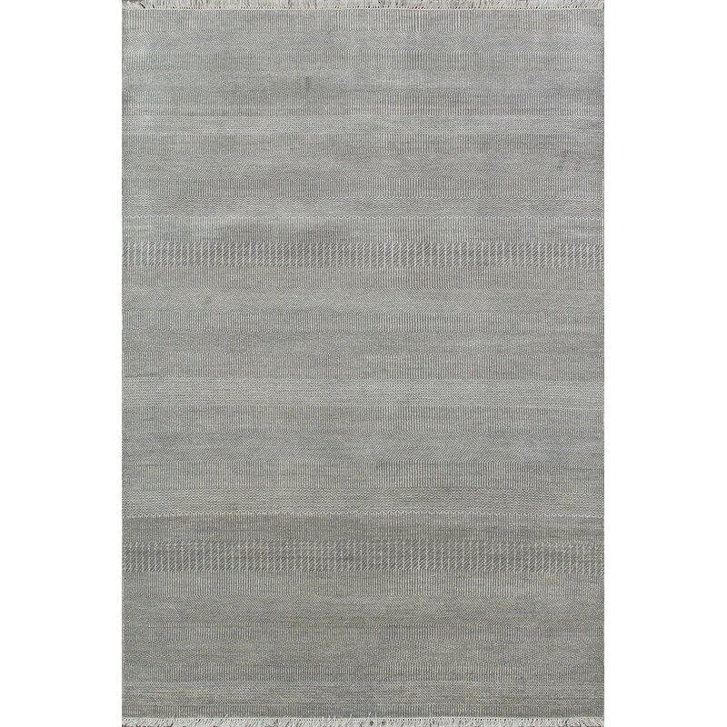 Pasargad Hand Knotted Wool And Rayon