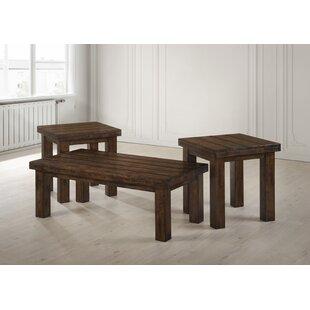 Loon Peak Moravian 2 Piece Coffee Table Set