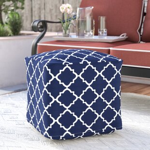 Wrought Studio Cribb Square Outdoor Beanbag Ottoman