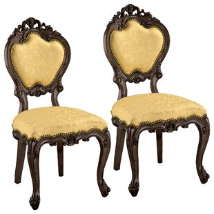 Lady Ambrose Side Chair (Set Of 2) by Design Toscano Coupon