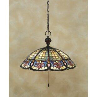 Tadler 3-Light Tiffany Inv..