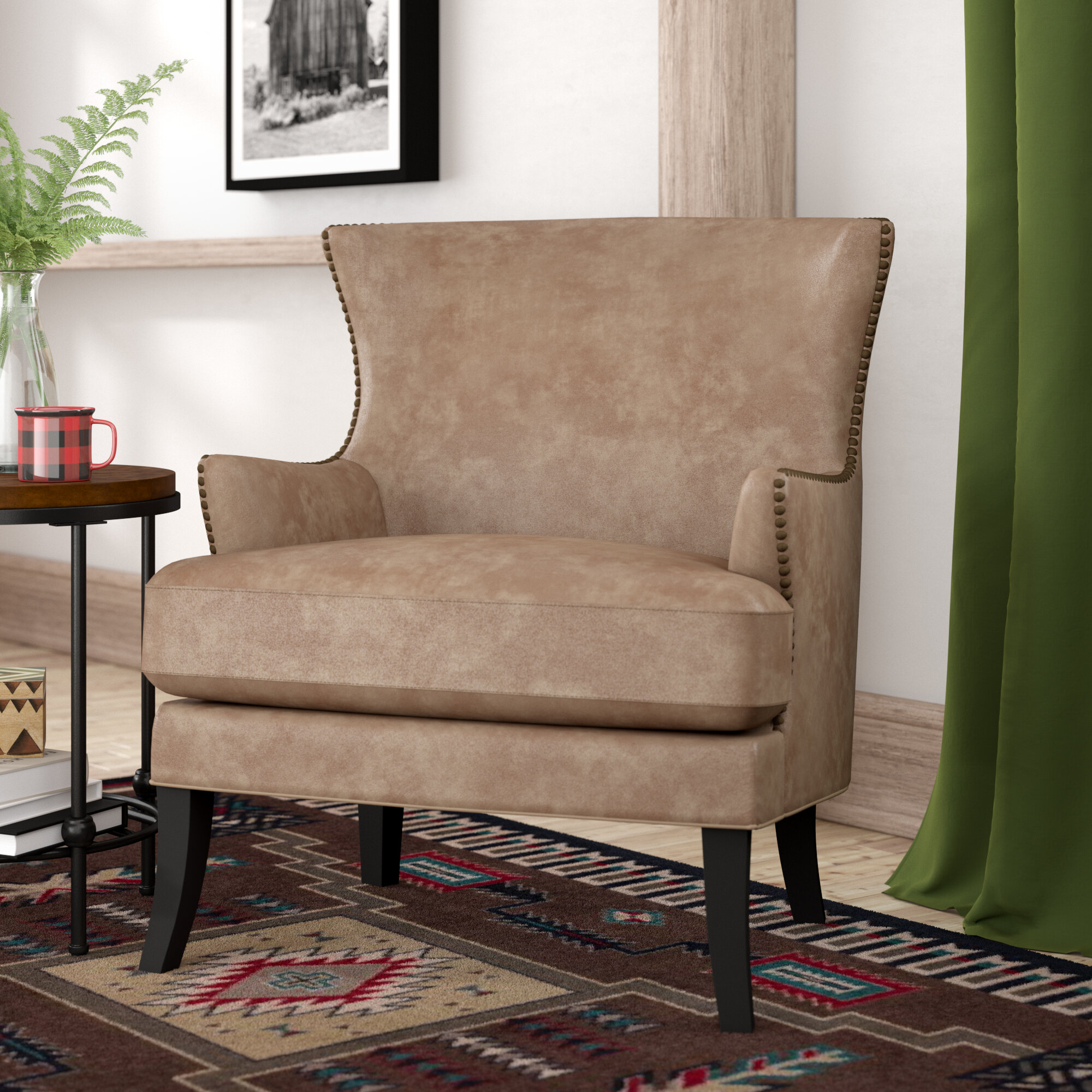 Accent Chairs Wingback.Sirmans Wingback Chair