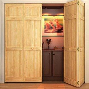 Wood interior doors Commercial Wood Paneled Bifold Door Monarch Custom Doors Find The Perfect Wood Interior Doors Wayfair