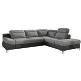 Lilly Right Hand Facing Sleeper Sectional with Ottoman by Orren Ellis