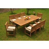 Ulises Luxurious 9 Piece Teak Dining Set