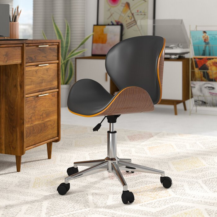 Bradford Adjule Office Low Back Drafting Chair