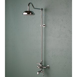 Strom Plumbing by Sign of the Crab Thermostatic Exposed Shower Set with Lever Handle