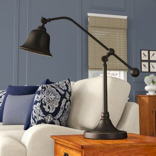 Jericho 37.5 Desk Lamp with Bell Shade