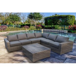 Kaiser 4 Piece Sectional Set with Cushions