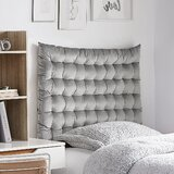 Padillo Extra Long Twin Upholstered Panel Headboard by House of Hampton®