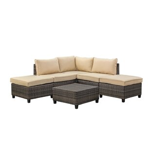Adama 6 Piece Sectional Set with Cushions