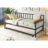 Andalynn Twin Metal Daybed with Trundle by Latitude Run®
