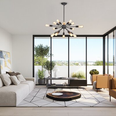 Black Modern Amp Contemporary Chandeliers You Ll Love In