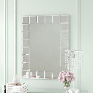 Willa Arlo Interiors Modern Rectangle Wall Mirror