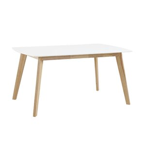 Broadus Retro Modern Dining Table