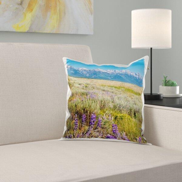 East Urban Home Grand Tetons Mountain Range Jackson Hole Wyoming Pillow Cover Wayfair