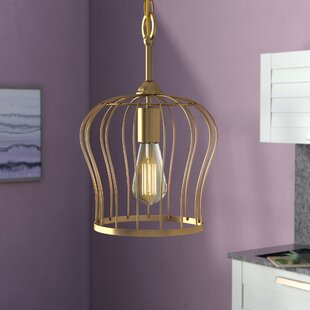 Mercury Row Arango 1-Light Bell Pendant