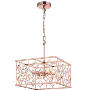 Workman 4-Light Chandelier