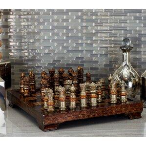 Decorative Hosting Styled Chess Board Set