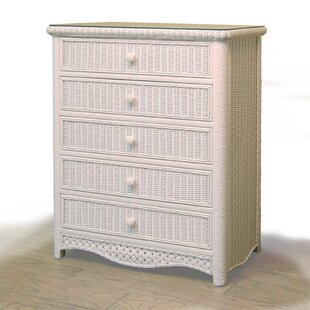 Nahua 5 Drawer Chest by Bay Isle Home