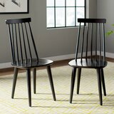 Teo Solid Wood Dining Chair (Set of 2) by AllModern