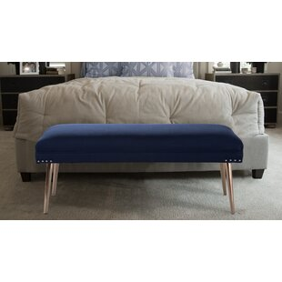 Everly Quinn Somer Upholstered Bench