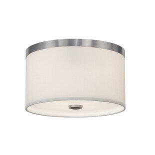 Meyda Tiffany Cilindro 2-Light Flush Mount
