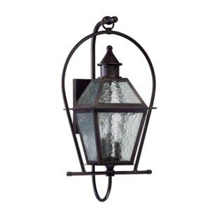 Laurel Foundry Modern Farmhouse Scheuerman 3-Light Outdoor Wall lantern