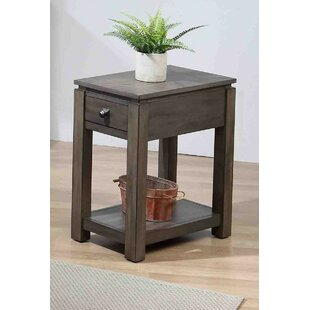 Olsson Narrow End Table by Gracie Oaks