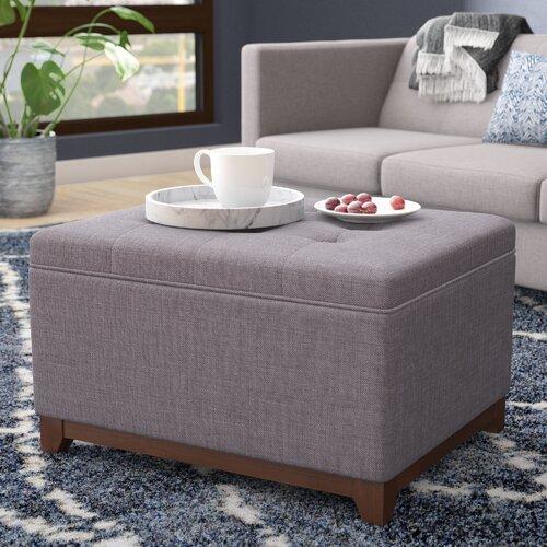 Stupendous Alcott Hill Nunnally Tufted Storage Ottoman Reviews Wayfair Pdpeps Interior Chair Design Pdpepsorg