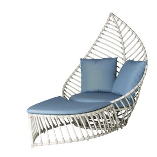 Palm Patio Chair with Cushions
